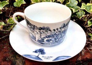 Llandeilo cup and saucer by Cecilia Lafuente