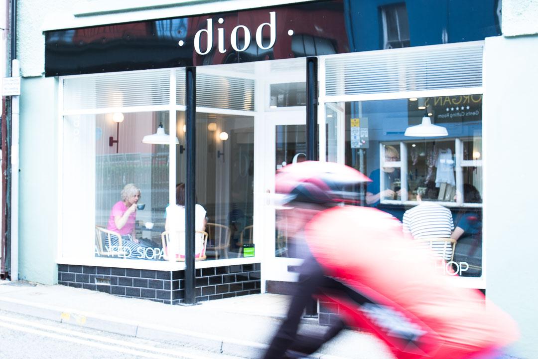 Diod coffee and wine shop, Llandeilo